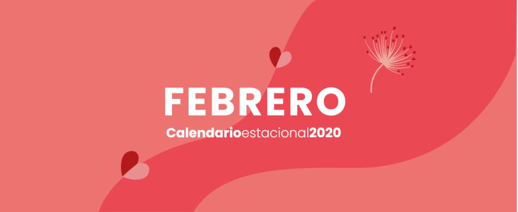 Calendario Febrero Marketing digital
