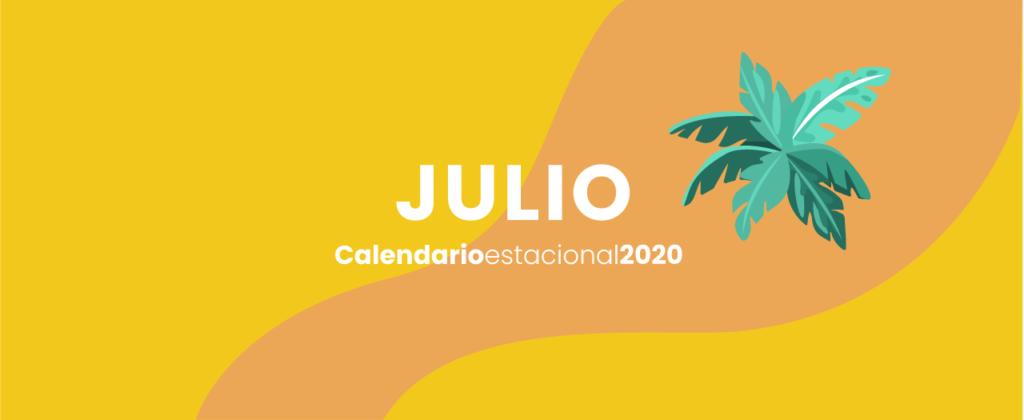 calendario marketing digital Julio 2020