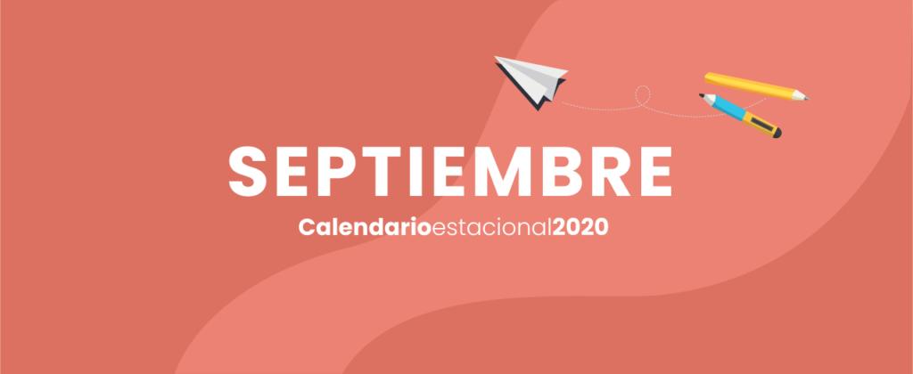 calendario marketing digital Septiembre 2020