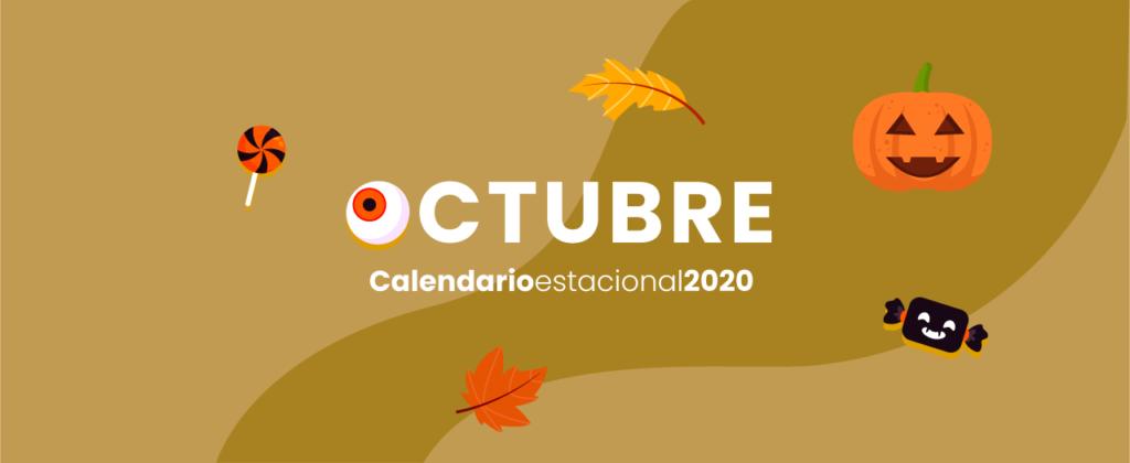 calendario marketing digital Octubre 2020
