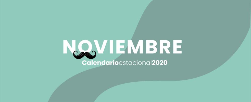 calendario marketing digital Noviembre 2020